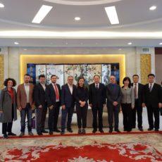 Udhëtim i delegacionit të lartë arsimor në Kinë.